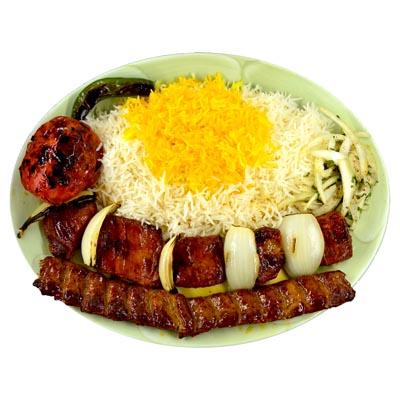 Lamb Shish Kabob Soltani