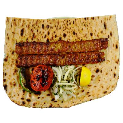 Beef Koobideh with Bread